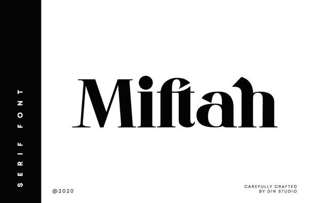 Miftah Modern Serif Font