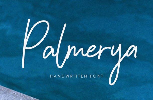 Palmeyra Handwritten Script Font