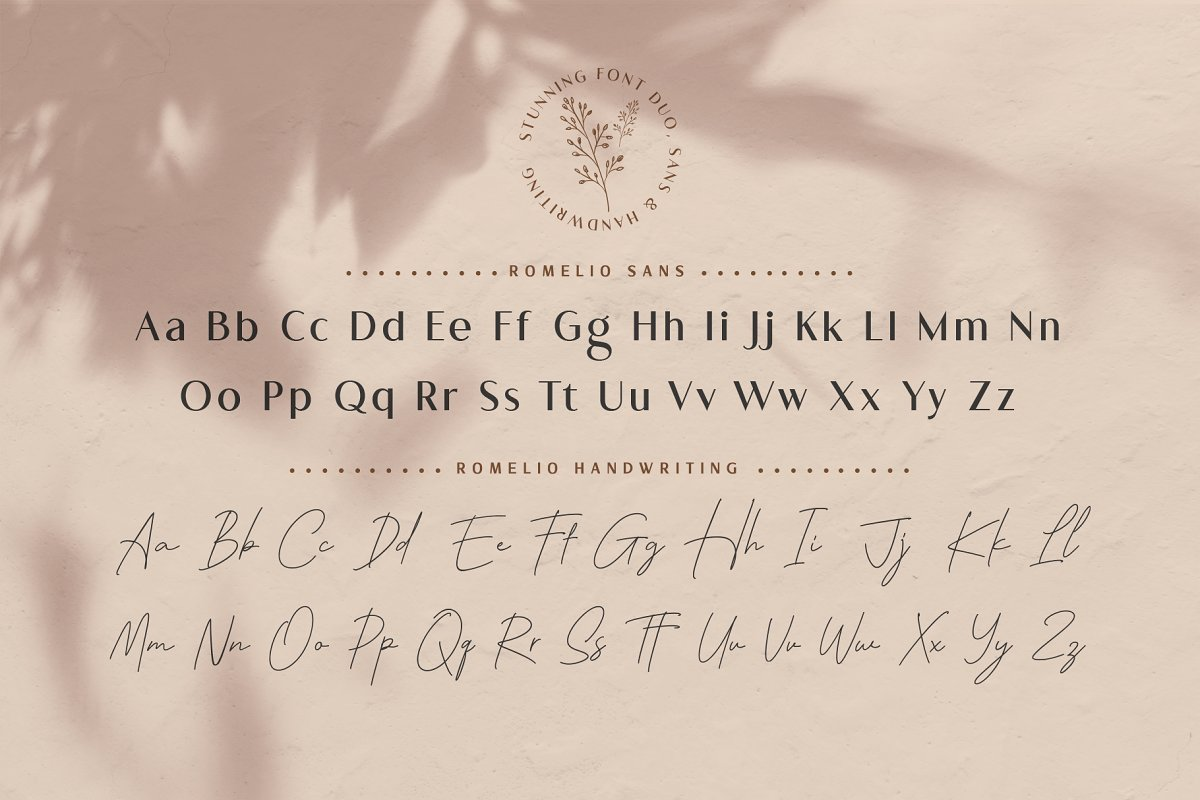Romelio Classy Sans Serif Font-3