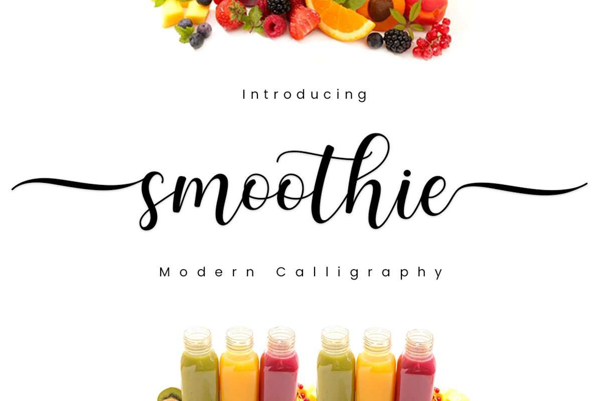 Smoothie Font-1