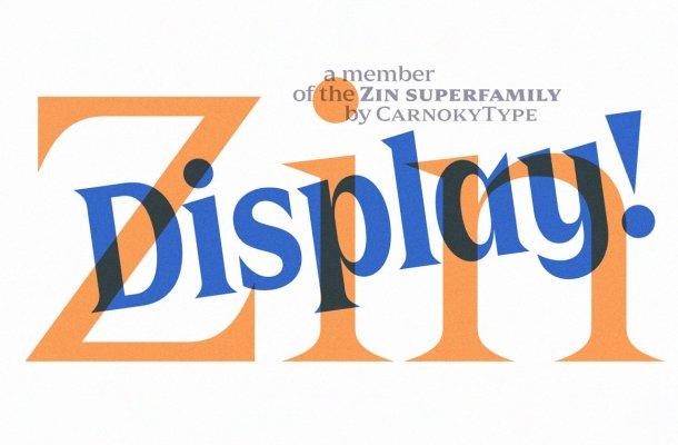 Zin Display Typeface-1