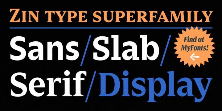 Zin Display Typeface-3