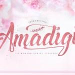 Amadigi Typeface