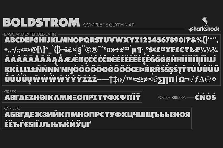 Boldstrom Font-2