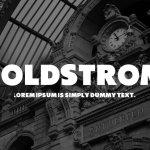 Boldstrom Font