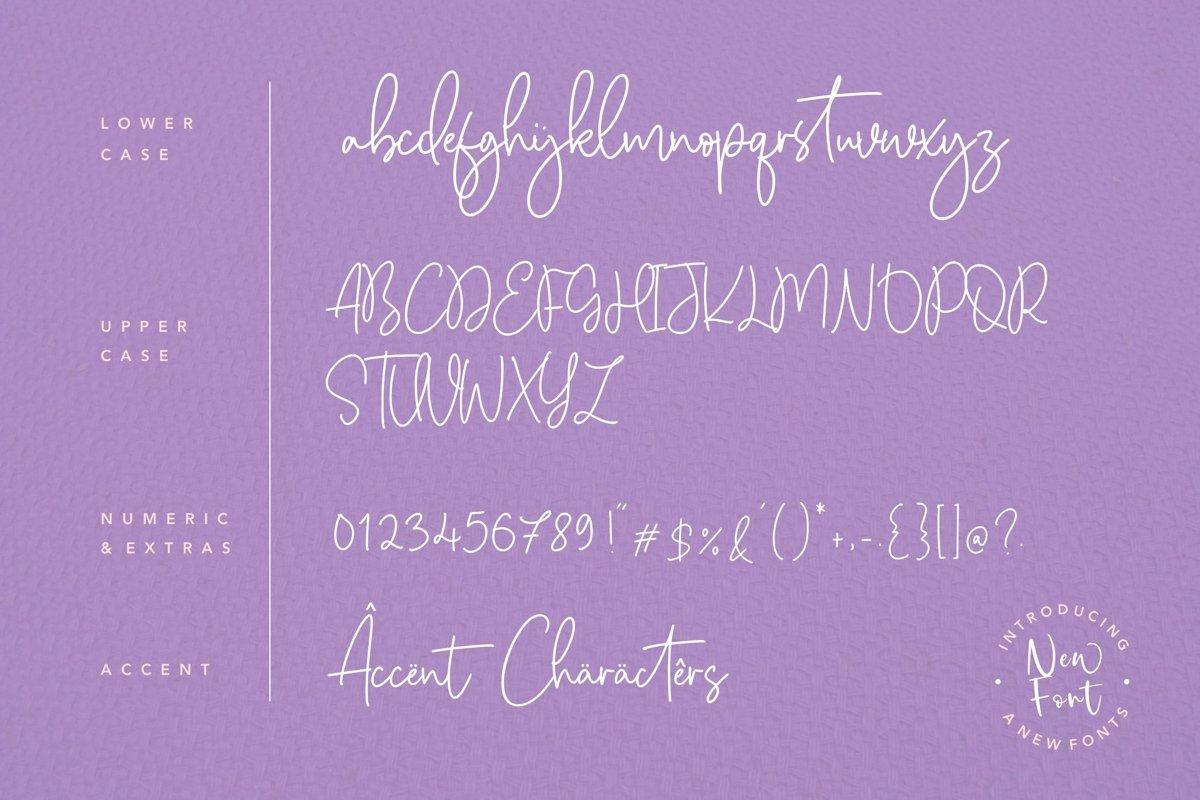 Citruslime Font-3