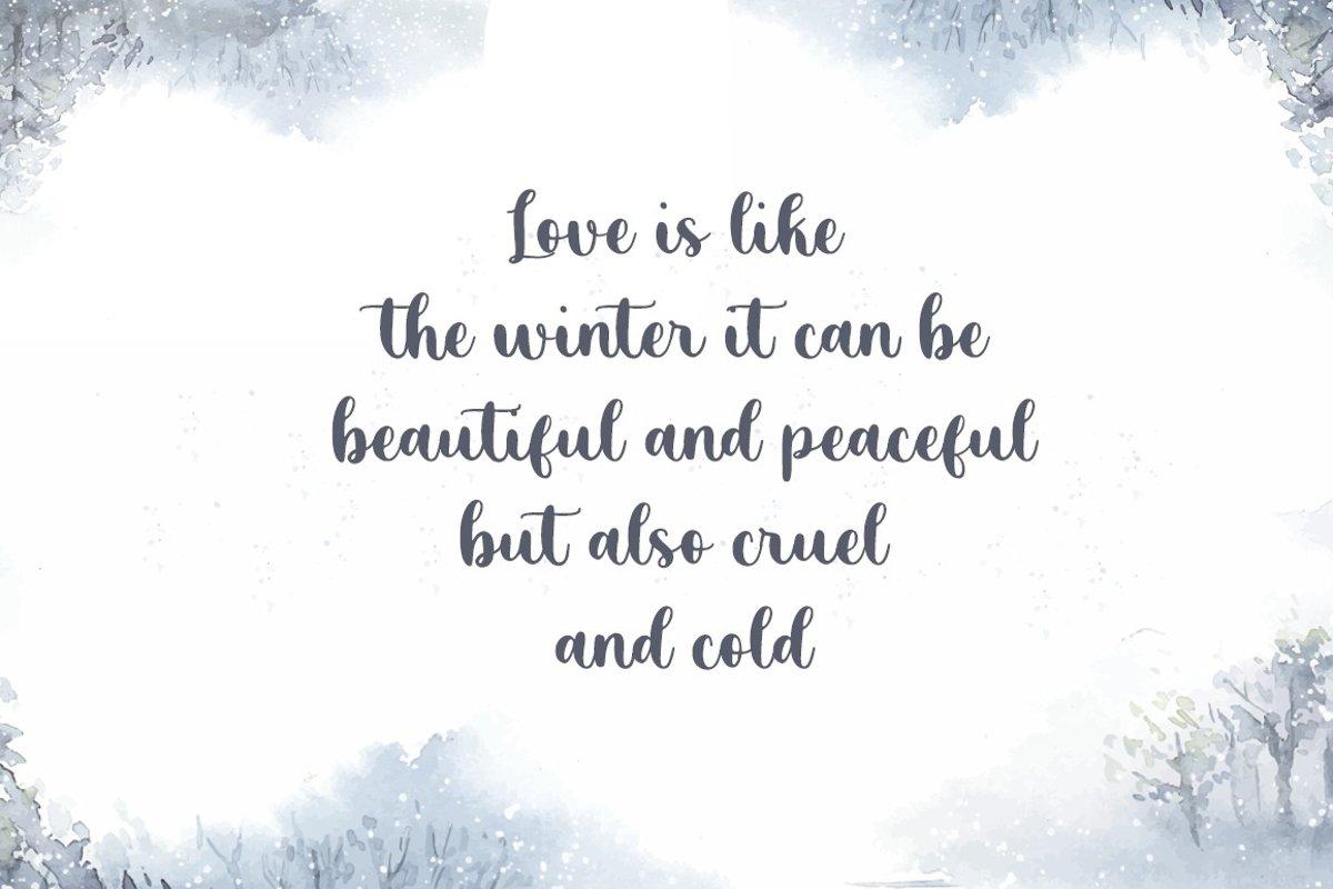 Cold Outside Font-2
