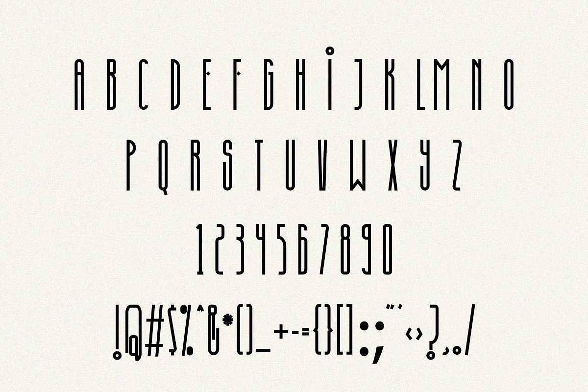Discored Typeface-3