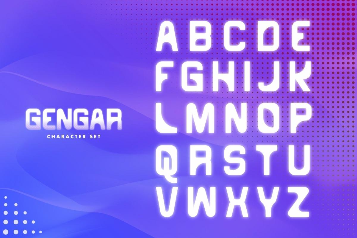 Gengar Font-2