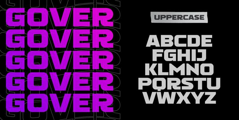 Gover Font-2