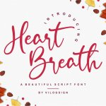 Heart Breath Font