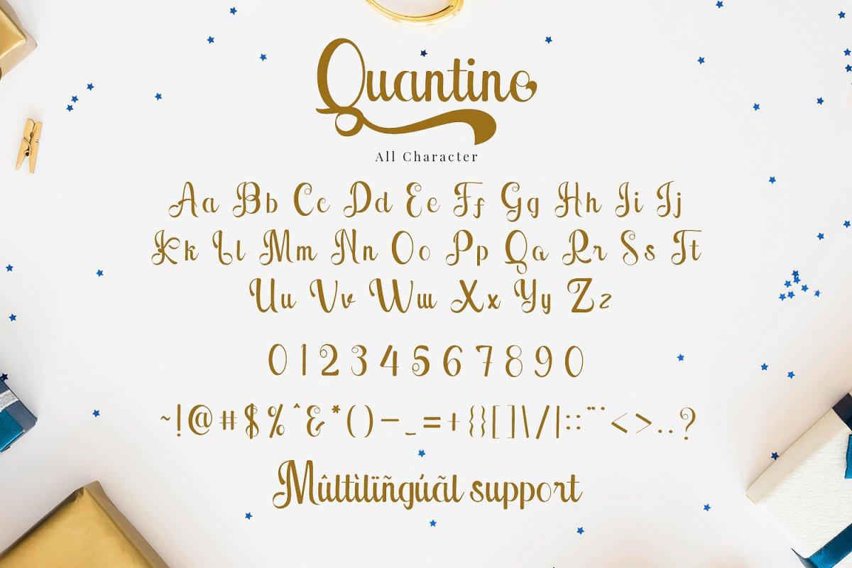 Quantine Font-3