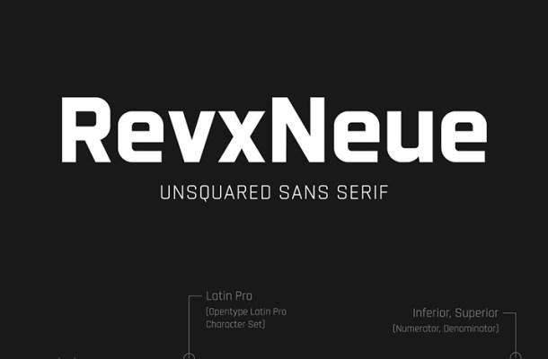 Revx Neue Typeface