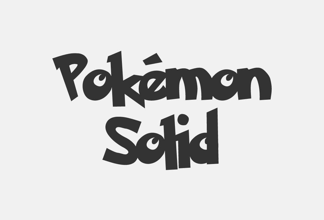 pokemon solid
