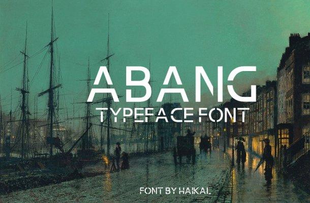 Abang Font