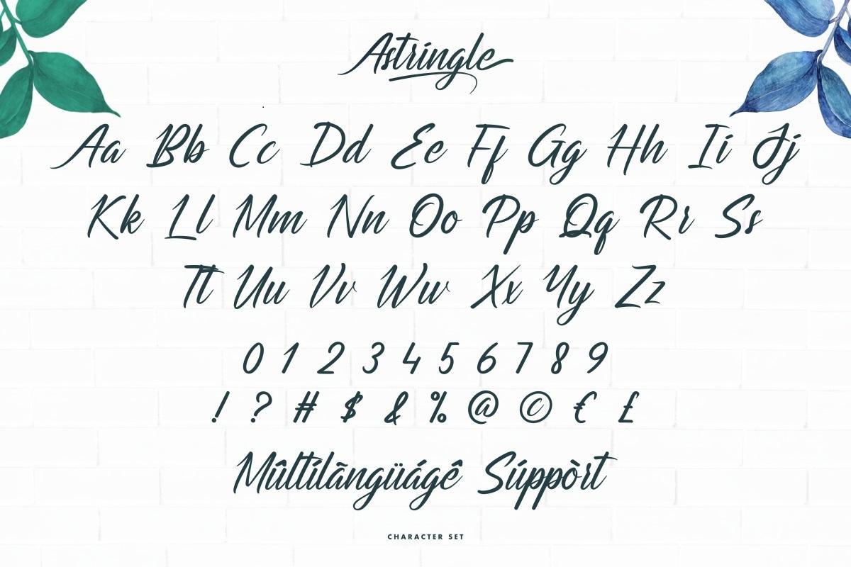 Astringle Font-3
