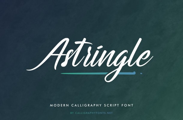 Astringle Font