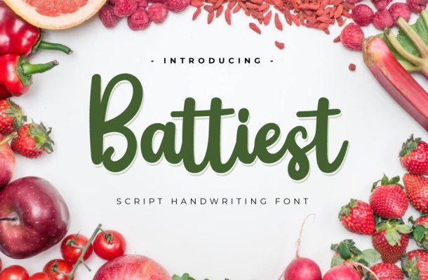 Battiest Font