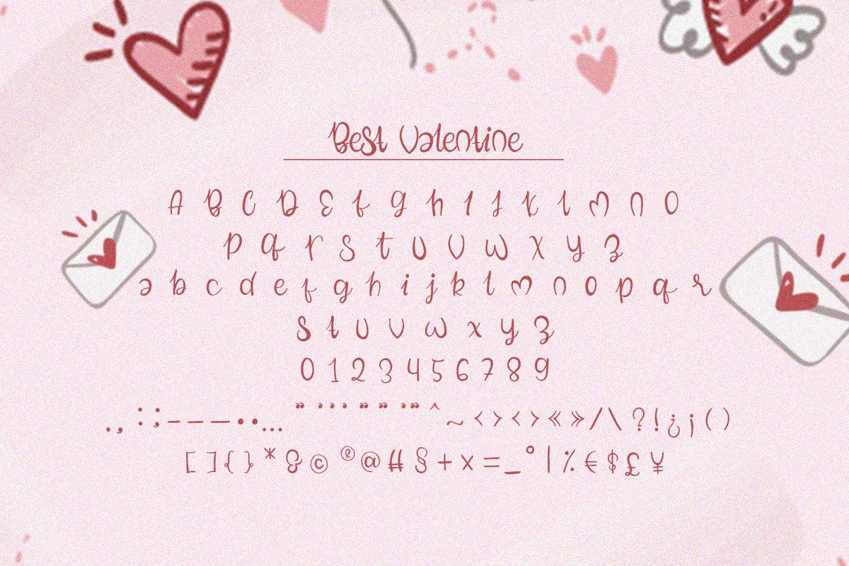 Best Valentine Font-3