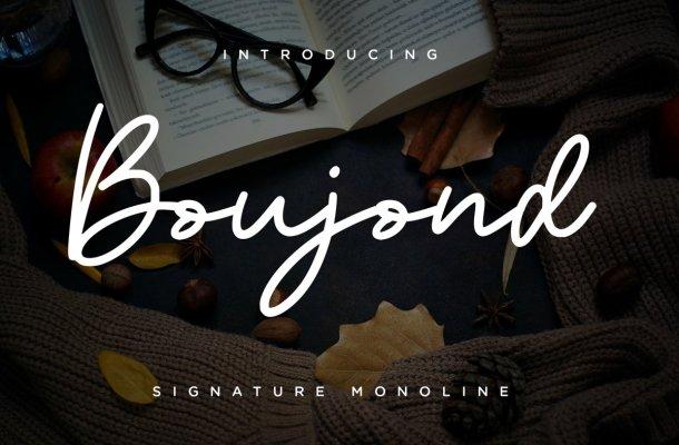Boujond Font