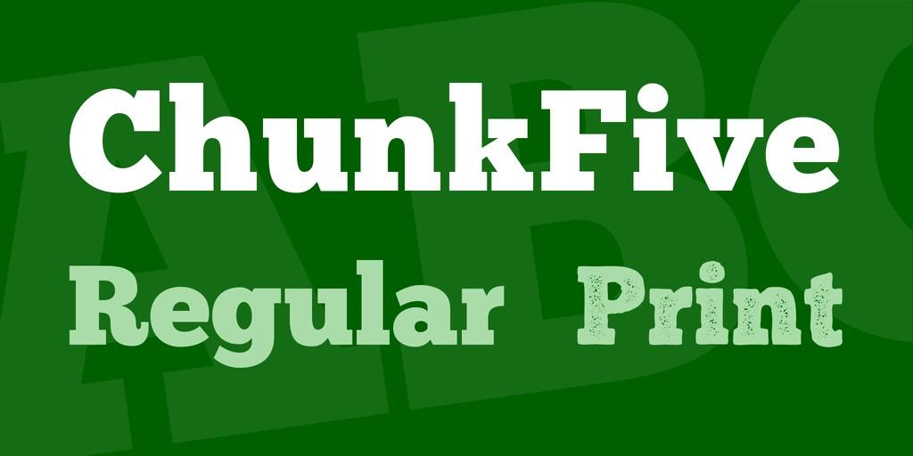 ChunkFive Font-2