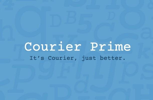 Courier Prime Font