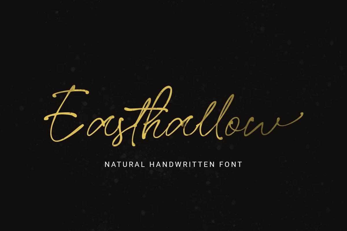 Easthallow-Natural-Handwritten-Font-1