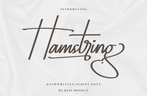 Hamstring Font