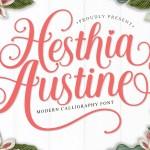 Hesthia Austine Font