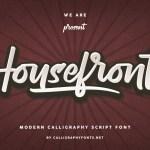 Housefront Font
