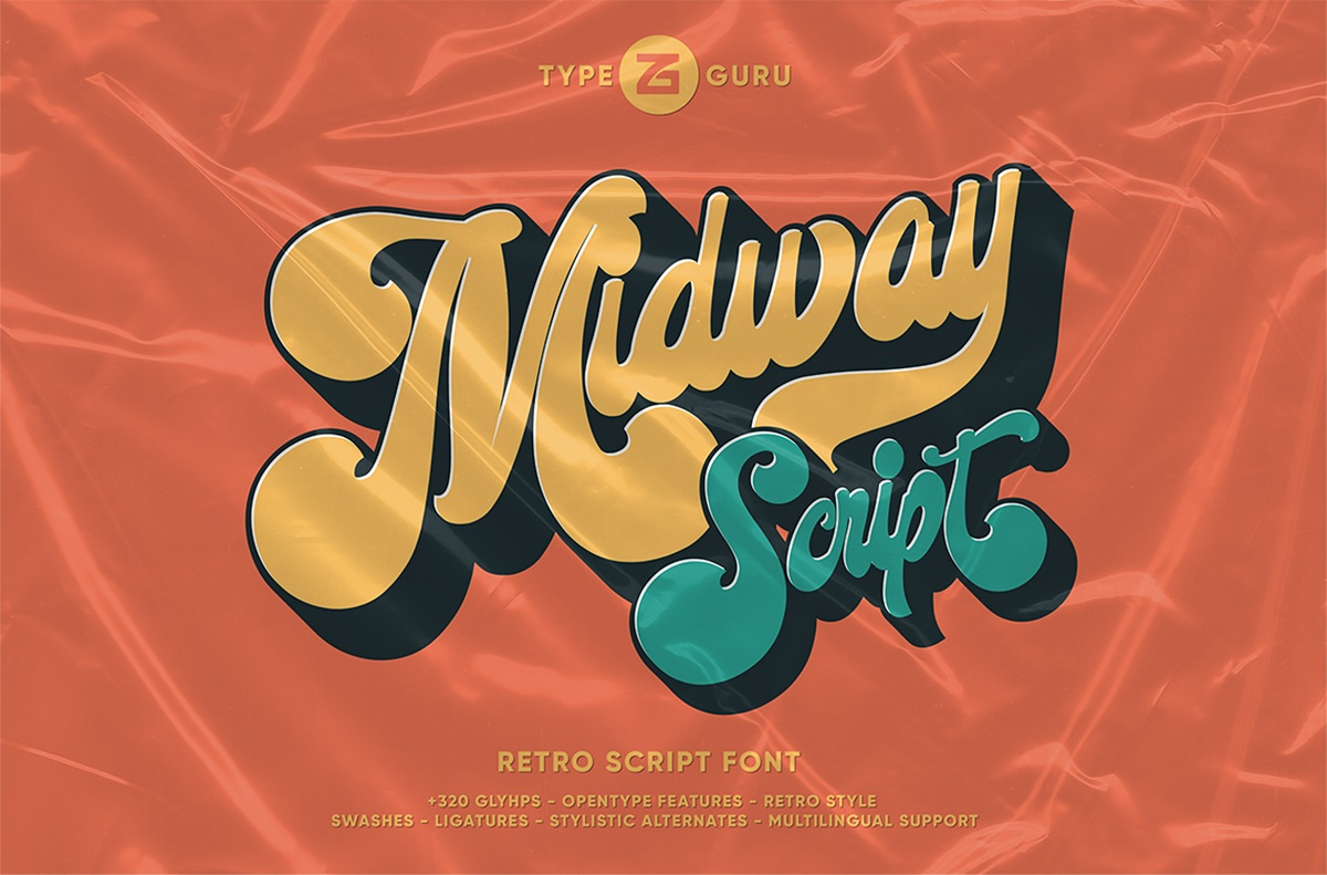 Midway Font