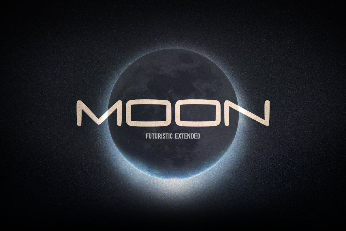 Moon Font-1