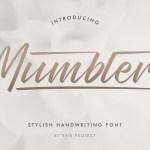 Mumblers Font