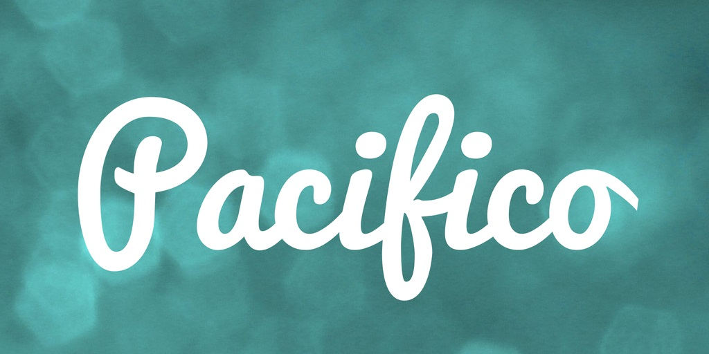 Pacifico Font-2