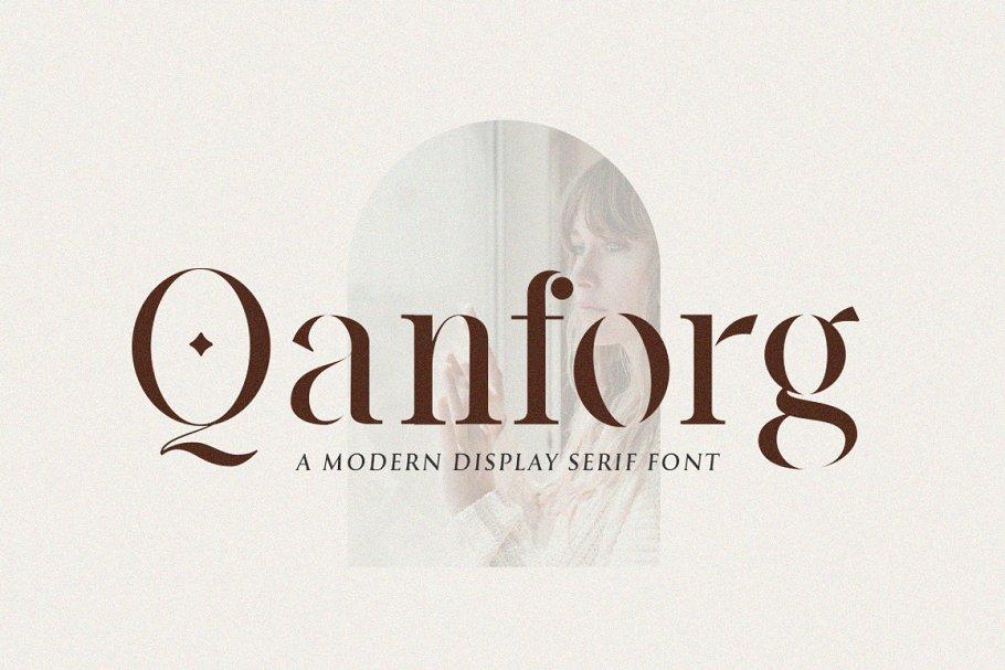 Qanforg Font-1