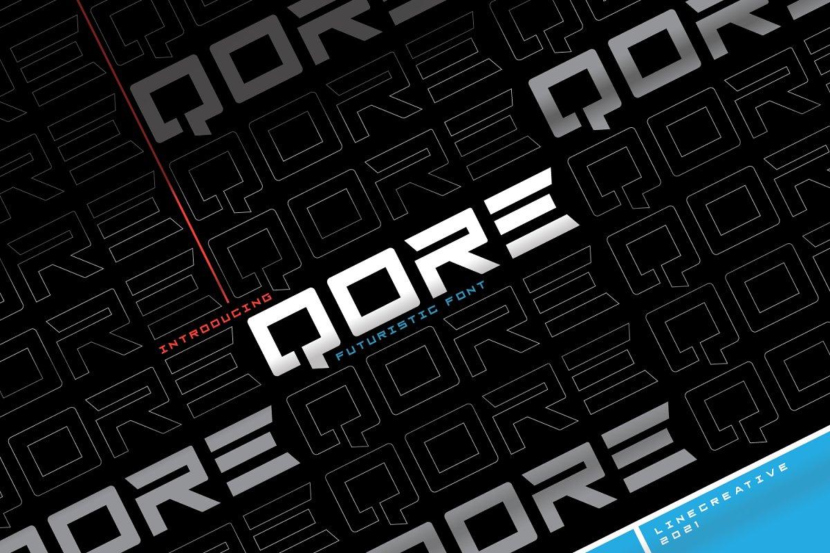 Qore Typeface-1