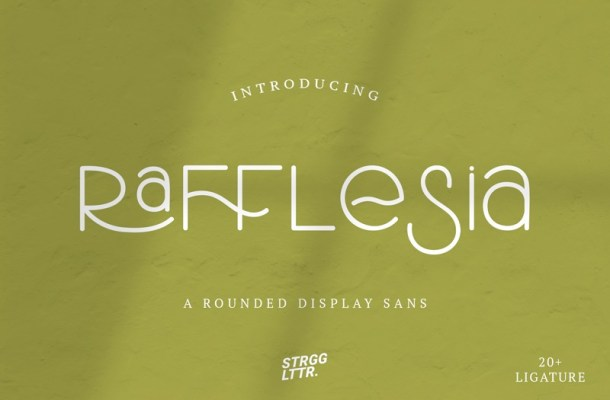 Rafflesia Font