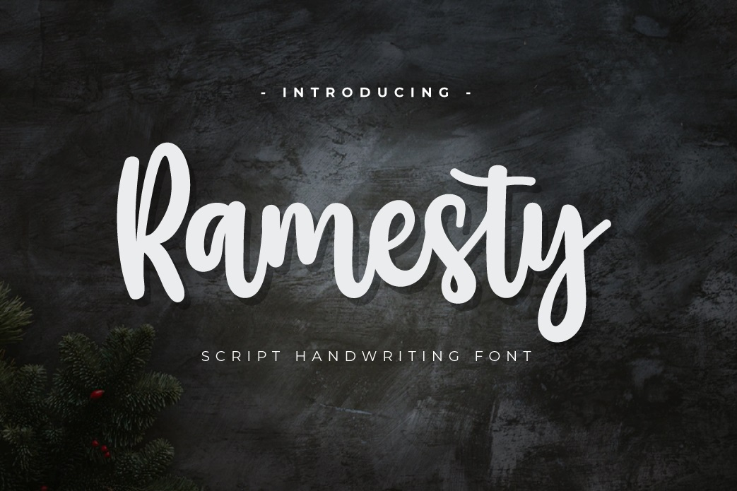 Ramesty Font