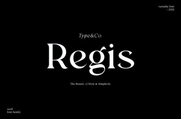 Regis Typeface
