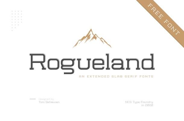 Rogueland Slab Font