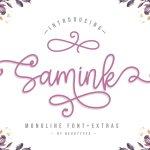 Samink Font