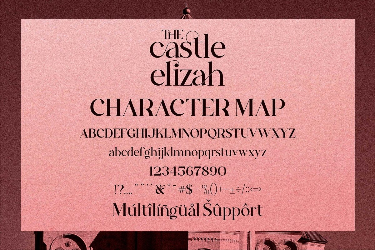The Castle Elizah Font-2