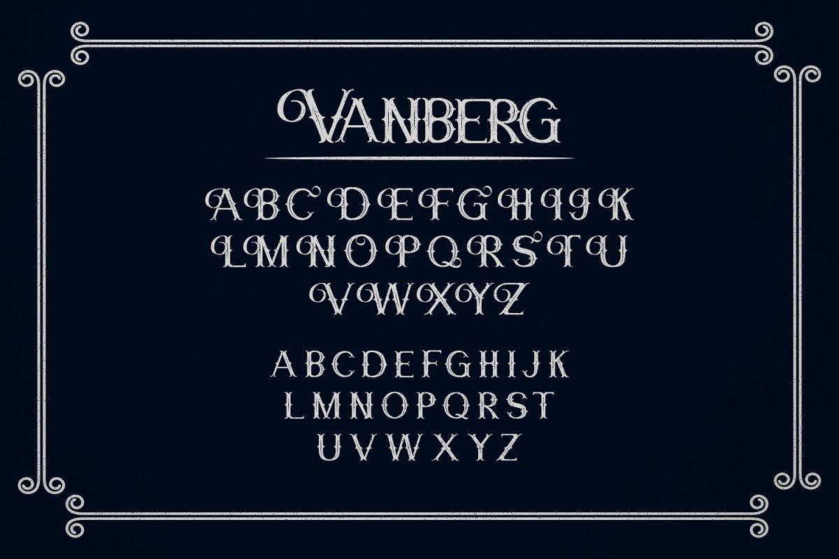 Vanberg Font-2
