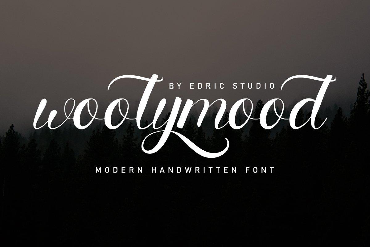 Woolymood Font