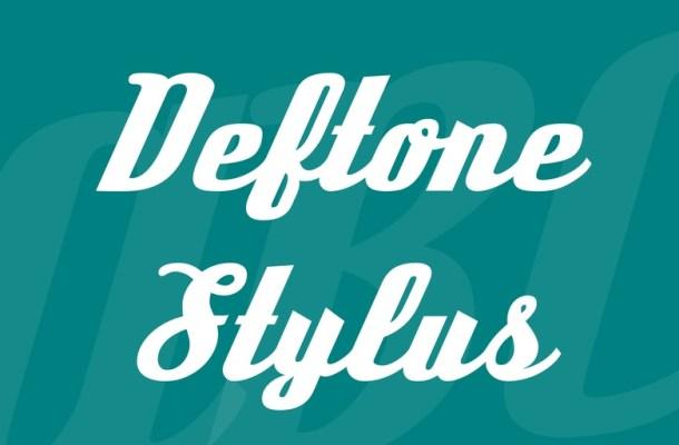 Deftone Stylus Font