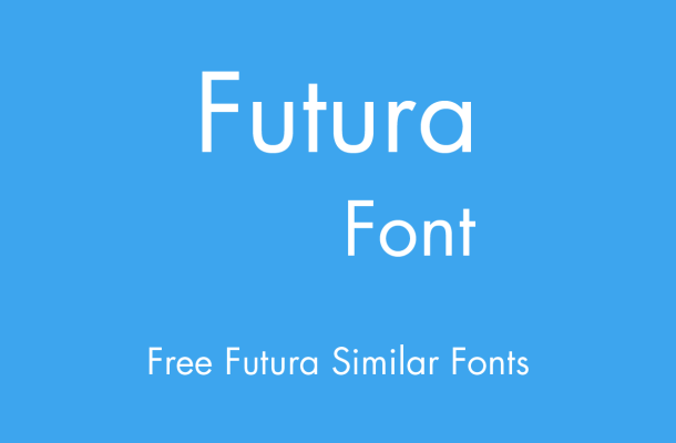 Futura Font Free Alternatives