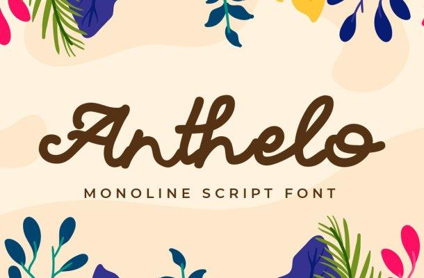 Anthello Font