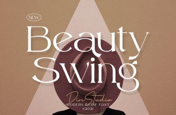 Beauty Swing Font