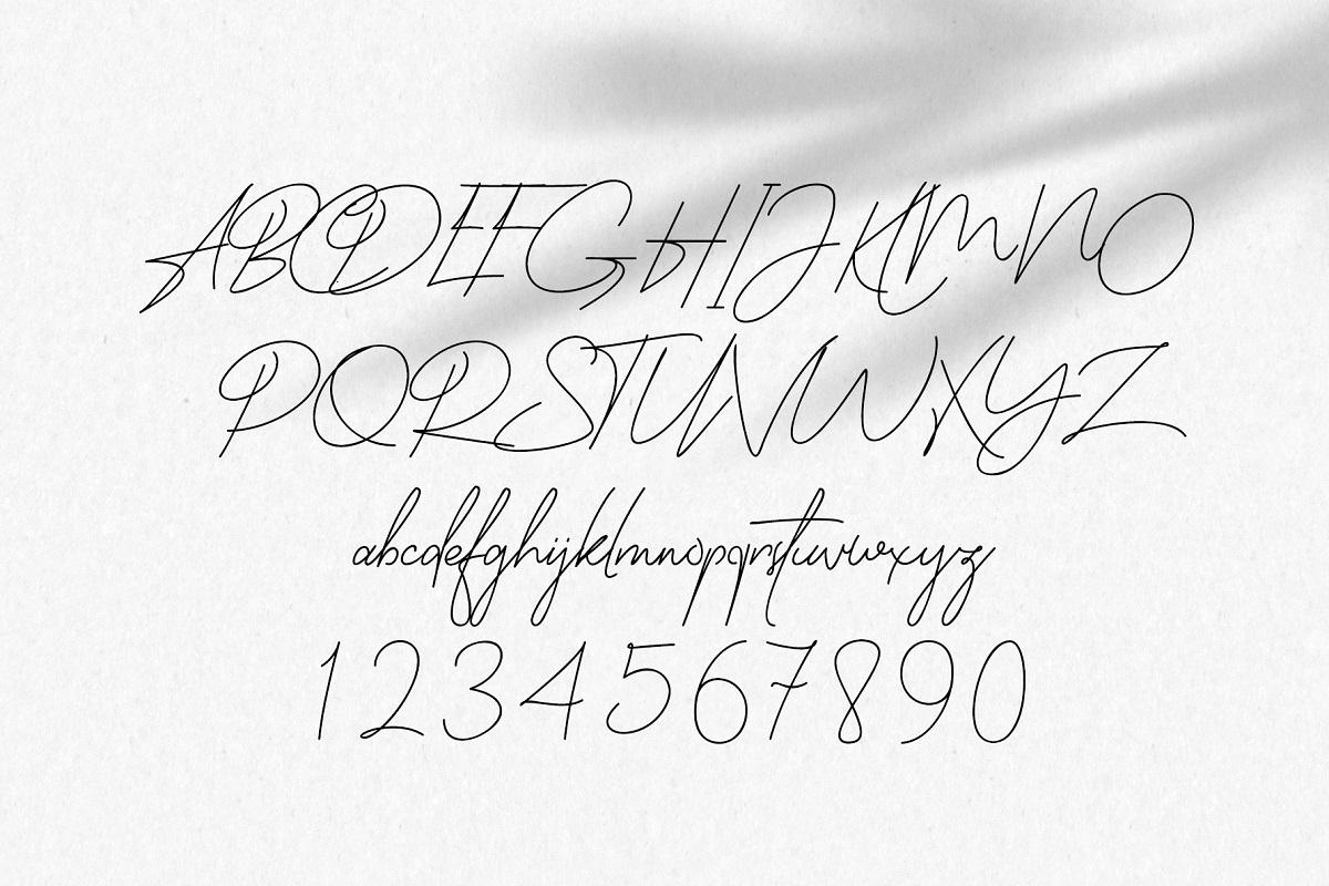 Bendungan Signature Font-2