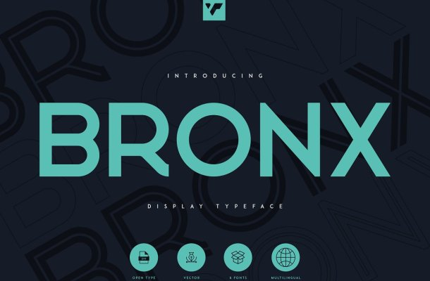 Bronx Typeface